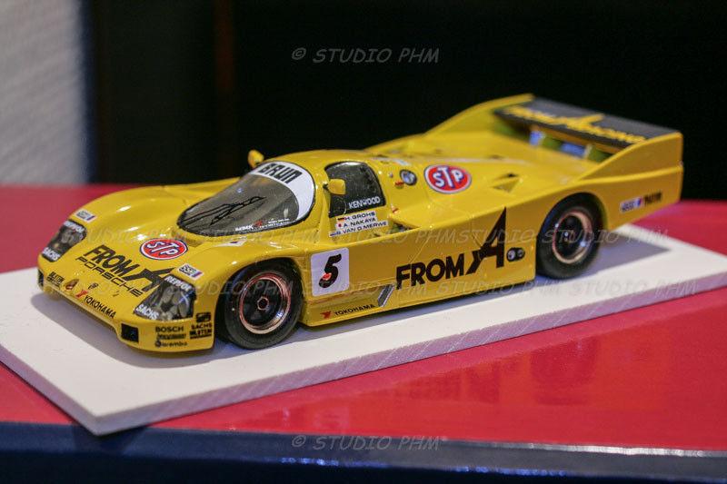 Porsche 962c no. 5 brun motorsport from, a 24h du mans 1989 1 43 starter no spark