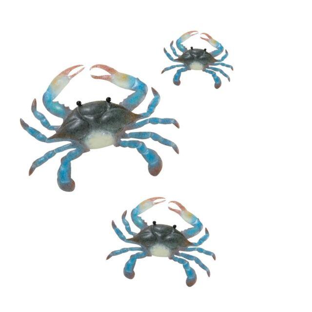 Regal Art &Gift Blue Crab Wall Decor Set of 3