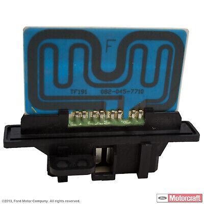 HVAC Blower Motor Resistor Front MOTORCRAFT YH-1723 fits 99-02 Mercury Villager