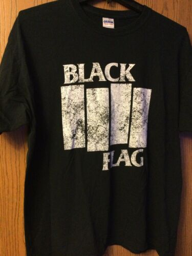 Black Flag - Black Shirt.  XL.