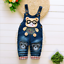 26-style-Kids-Baby-Boys-Girls-Overalls-Denim-Pants-Cartoon-Jeans-Casual-Jumpers thumbnail 5