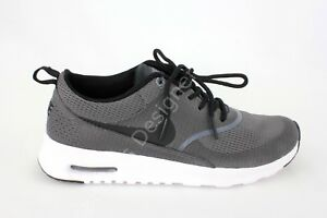 Details about Nike Air Max Thea Txt Womens Shoes Dark GreyBlackWhite Size 8