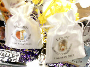 PERSONALISED-Our-Lady-Jesus-Christ-FIRST-HOLY-COMMUNION-FAVOUR-GIFT-BAGS-Satin