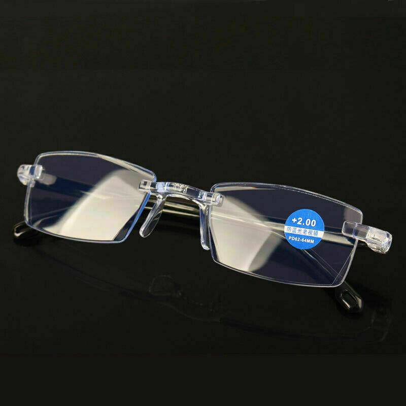 2 Stück Lesebrille Blaufilter Blaulichtfilter sehr elastisch 2 Modelle Top