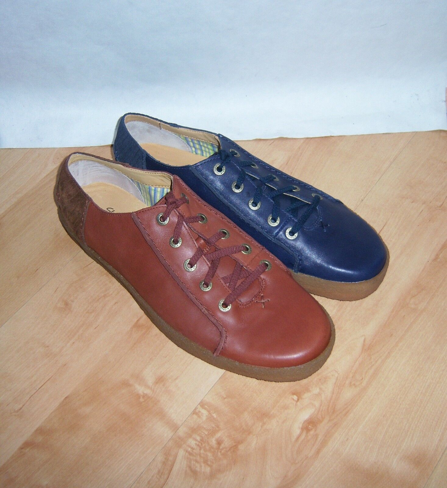 NEW Clarks Originals mens PRESTON BELL leather casual laced shoes
