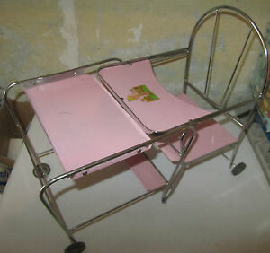 Baby Stroller Cart 60 Years Crib For Doll Free Expenses