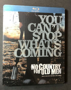 No-Country-for-Old-Men-Limited-Edition-STEELBOOK-Blu-ray-Disc-NEW