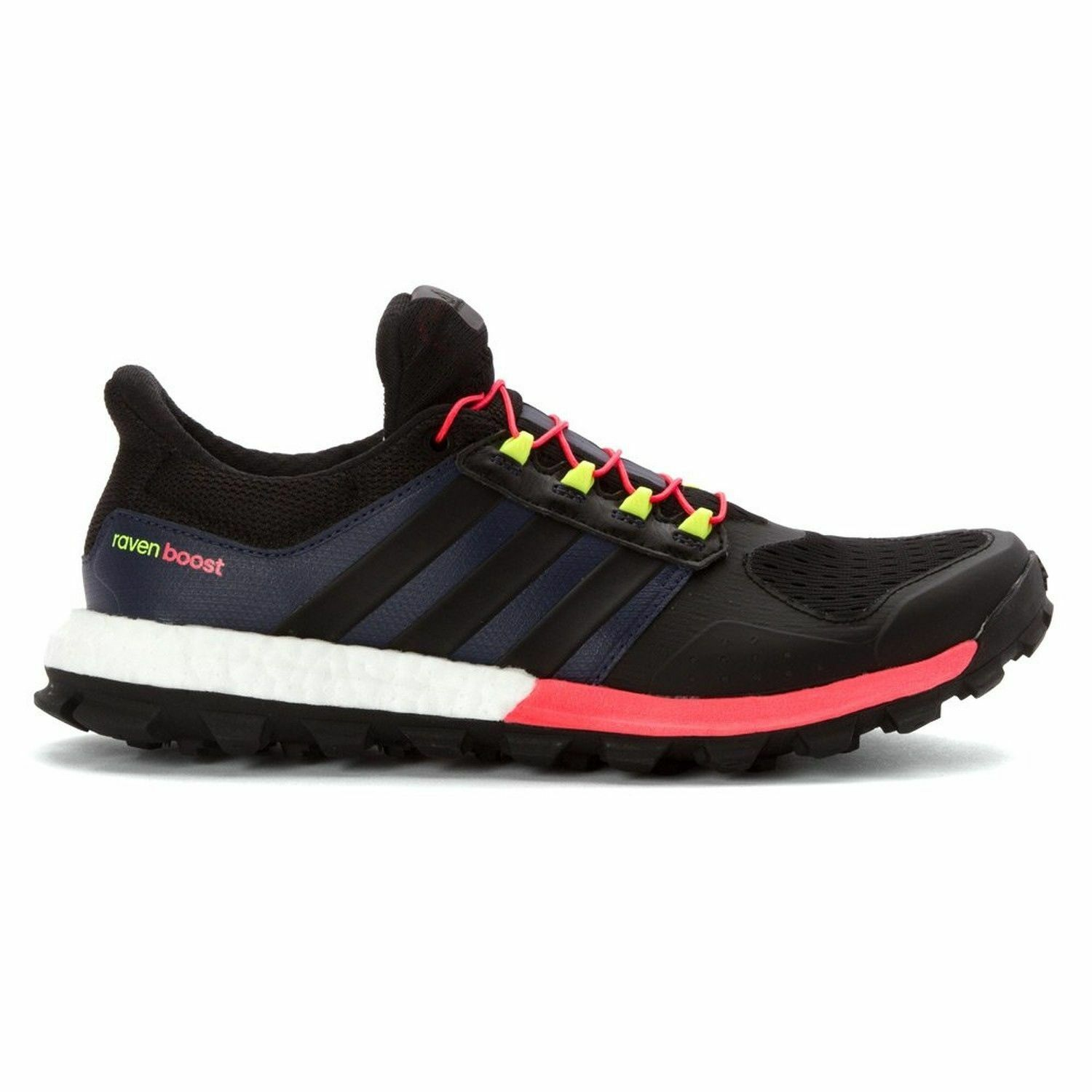 buy popular 4aa44 3d802 adidas Adistar Raven Boost Womens Trail Running Shoes Size 11 B25108 for  sale online  eBay