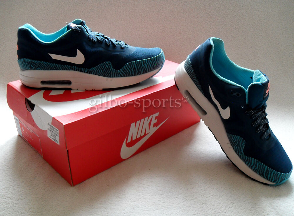 Nike Air Max 1 CMFT PREMIUM Tape Reflect Blau selten! Gr. 45  Neu 599514 410 90