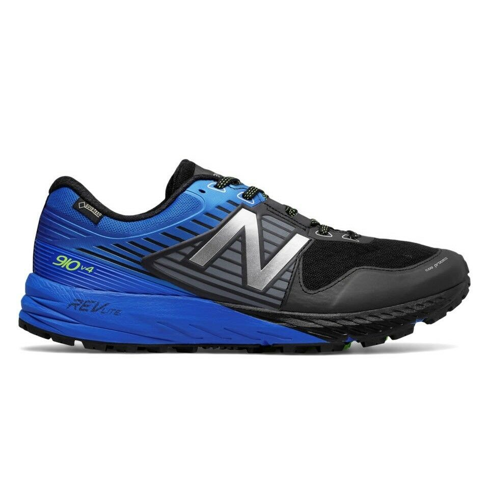 NEW BALANCE BALANCE BALANCE MT910 bx4 v4 Gore-Tex Herren Laufschuhe Running blau Trail Schuhe d43e6b