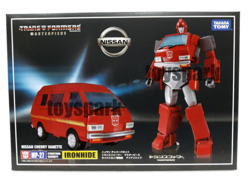 TAKARA TOMY Transformers Masterpiece MP-27 IRONHIDE G1 autobot action figure