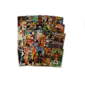 50-Comic-Book-bundle-lot-Marvel-and-DC-Premium-Comic-Collection