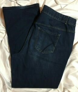 Lane-Bryant-Bootcut-Jeans-Plus-Size-28-Long-Stretch-Tighter-Tummy-Technology