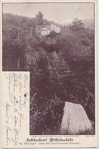 Alte-AK-LUFTKURHOTEL-WILHELMSHOHE-bei-ETTLINGEN-postal-gelaufen-1898