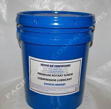 28h286 Gardner Denver Equivalent 8000 Hour 5 Gal Synthetic Rotary Compressor Oil
