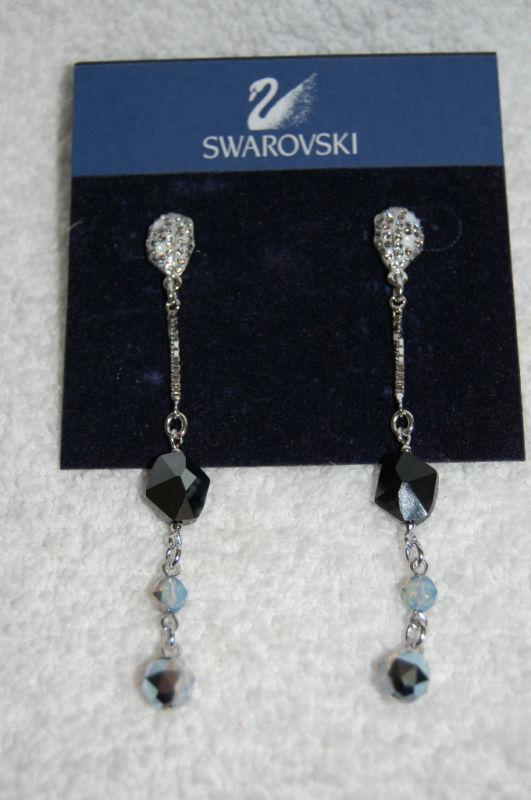 SWAROVSKI Crinkle Pierced Earrings 886755 BEST OFFERS CONSIDERED