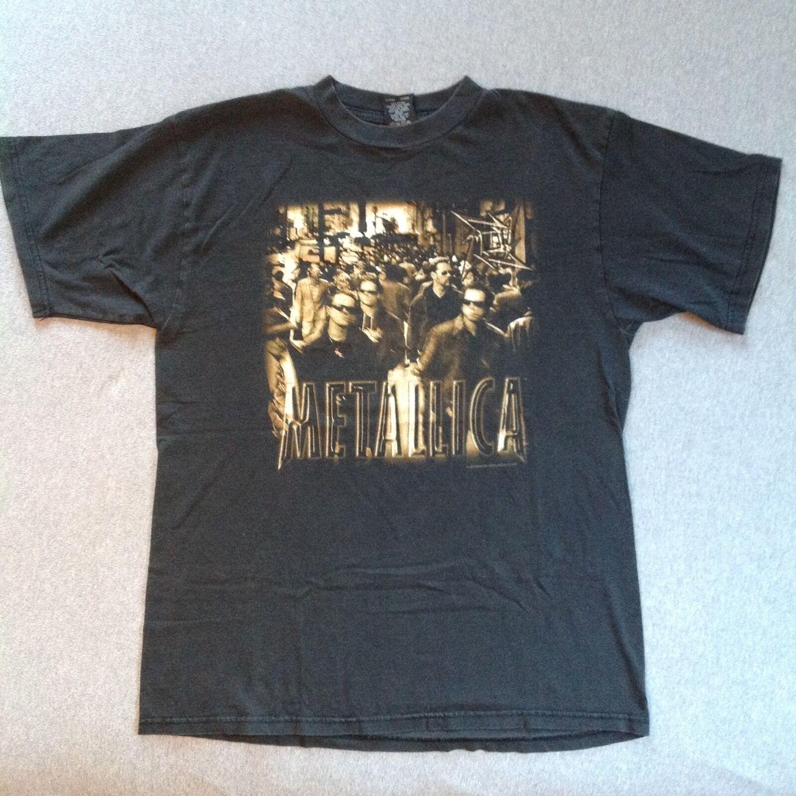 METALLICA vintage t shirt 1996 LOAD XL ORIGINAL 90s thrash metal tshirt