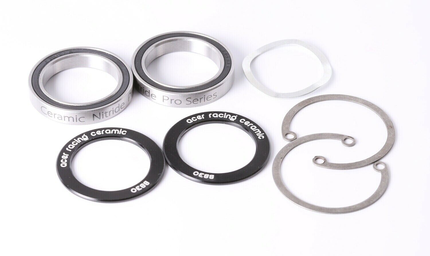 ACER Racing BB30  Ceramic Bearing and Clip Kit with 6806 Ceramic Bearings  best sale