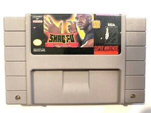 Shaq-Fu-SNES-Super-Nintendo-Game-Tested-Working-Authentic