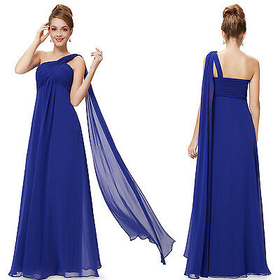 Ever Pretty Long Ladies One Shoulder Maxi Evening Bridsemaid Party Dress 09816