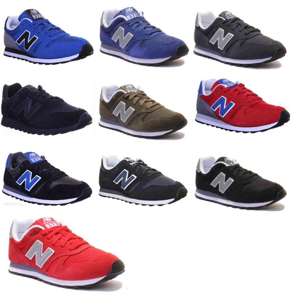 New Balance ML 373 Unisex Suede Leder Sneakers