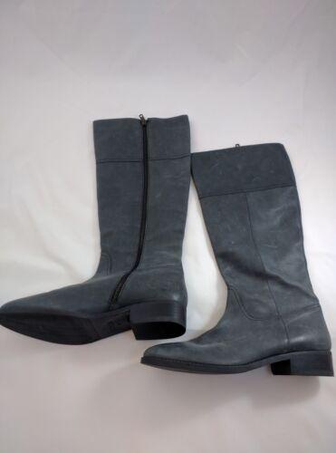 Jcrew Zip Leather Gorgeous Black 11 New rijlaarzen Nottingham Womens up FREqcY