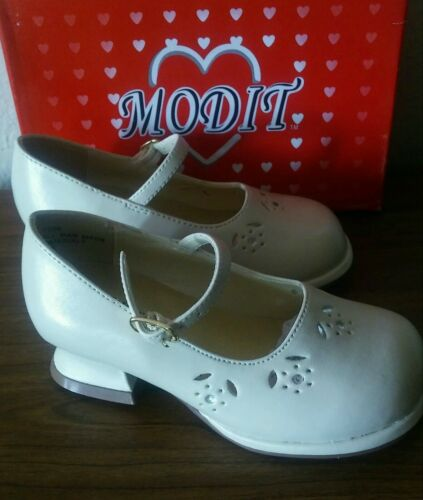 6 7 MODIT girls Toddlers low heel Dress shoes Beige Size 5