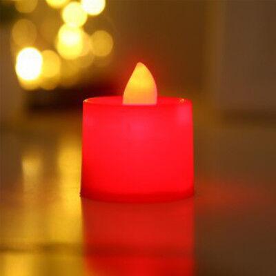 5PC Multi Color LED Tea Lights Candles Party Decor Battery Candles