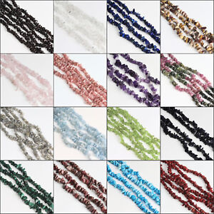Freeform-Natural-Gemstones-Chips-Beads-for-Jewelry-Making-34-034-15-034-Bulk-in-Lots