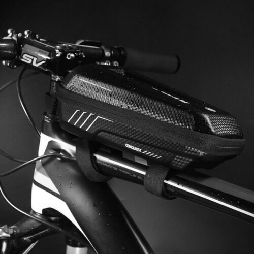 WILDMAN Bicycle Bike Front Frame Cycling Waterproof Front Tube Bag Mobile Phone