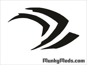Nvidia-Geforce-Claw-Computer-PC-Case-Window-Applique-Vinyl-Decal-Color-Choices