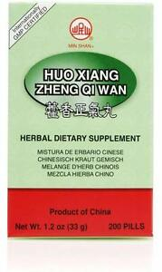 Min Shan, Huo Xiang Zheng Qi Wan, 200 ct