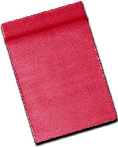 Zip Beutel Zipper Schnellverschlußbeutel 40x55mm rot red Beutelchen Tütchen Tüte