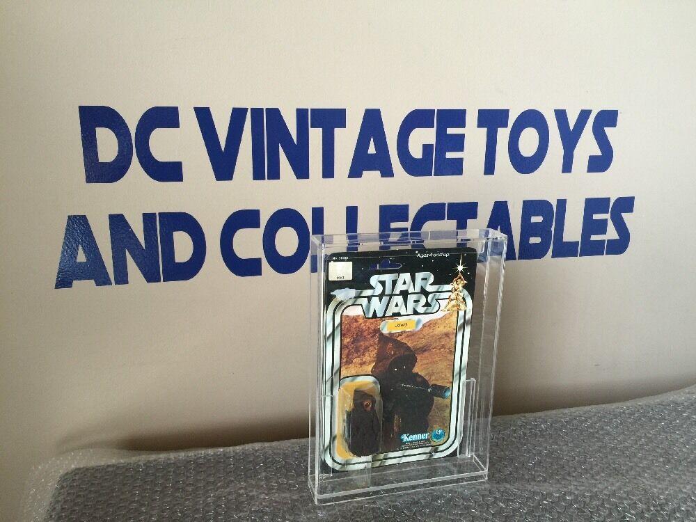 Vintage 2018 Kenner Star Wars Jawa 12 B Caso De Acrílico mira