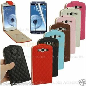 Luxury-Leather-Flip-Case-Cover-Magnetic-Closure-For-Samsung-Galaxy-S3-SIII-i9300