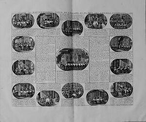 Antique-map-Carte-du-gouvernement-civil-de-l-039-Espagne