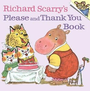 Richard-Scarrys-Please-and-Thank-You-Book-Pictureback-R-by-Richard-Scarry