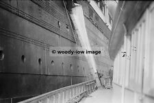 rp3797 - Liner - Lusitania , mail chute - photo 6x4