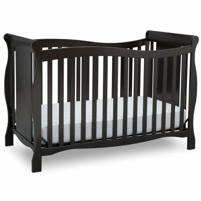 Delta Children 6462 207 Brookside 4 In 1 Crib Dark Chocolate For Sale Online Ebay