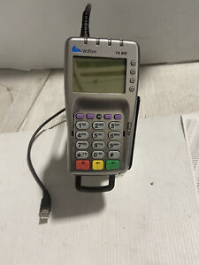 VeriFone VX 805 PIN Pad Card Swipe Chip USB Card Reader and Stand