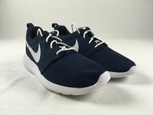 Details about Nike Roshe One Running Shoes Men's Obsidian/White NEW 8.5