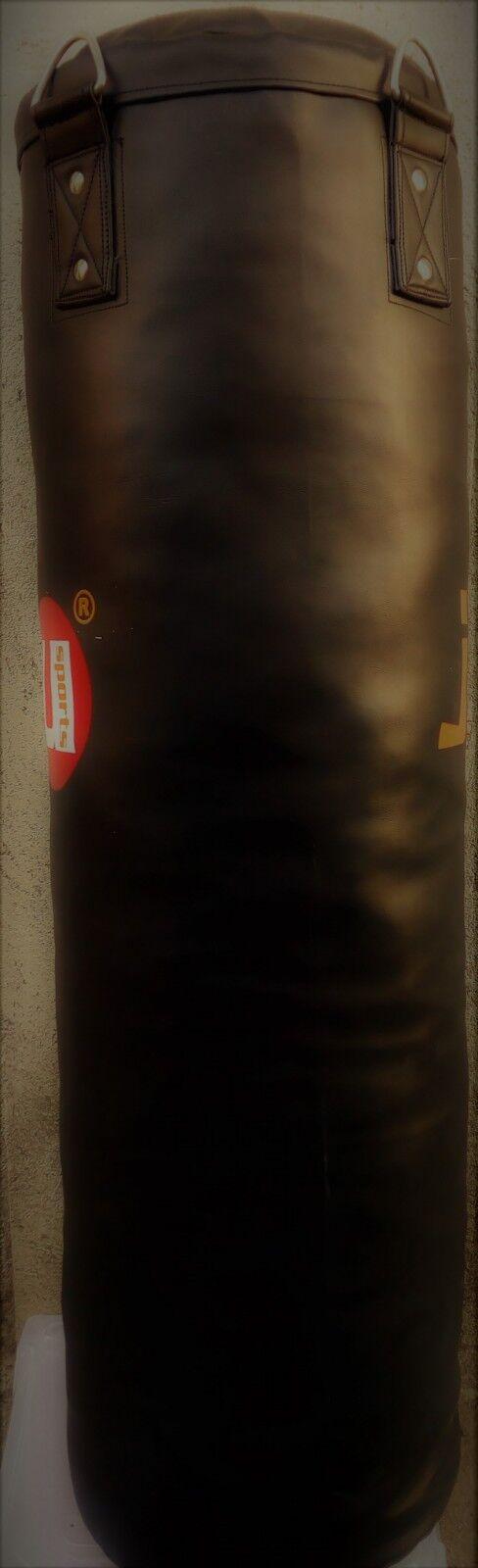 Sacco Boxe simil pelle 100x30cm peso 30kg ca. completo di catene