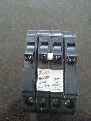MURRAY MP24020 NEW  QUAD BREAKER 1-240 2-120 BREAKERS 125//250 VOLT
