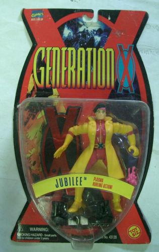 MARVEL GENERATION X TOYBIZ JUBILEE 1995 RARE MOC MOC MOC 15e117