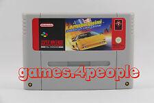 Lamborghini American Challenge - Rennspiel Abenteuer für Super Nintendo / SNES