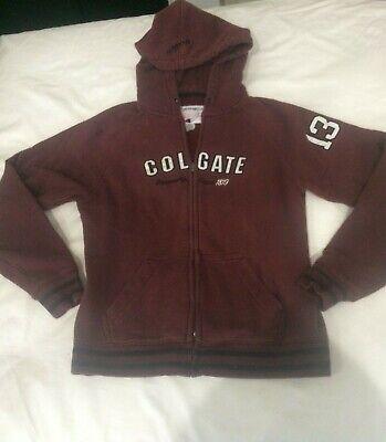 Colgate Black Fleece Full Zip Hoodie Colgate Raiders