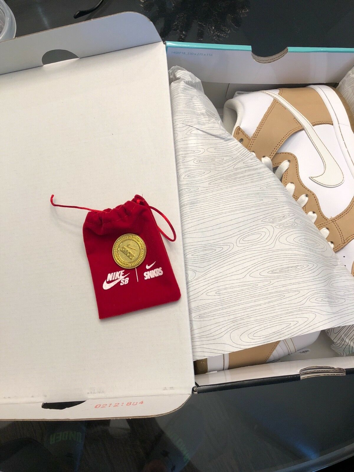 Nike SB x Premier Dunk High TRD QS QS QS  Win Some,Lose Some  - Vachetta Tan - 9.5 727411