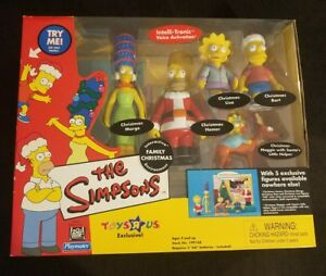 The Simpsons Playset Family Christmas - Plume à commande vocale rare 2001 43377991687