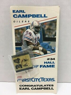 Earl Campbell Houston Oilers Poster FREE US SHIPPING