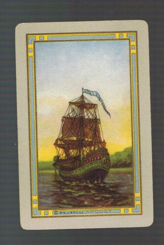 "Swap Playing Cards 1 VINT  N//NMD  U.S  /""ARGOSY/""  US107   SAILING THE SEAS SUNSET"